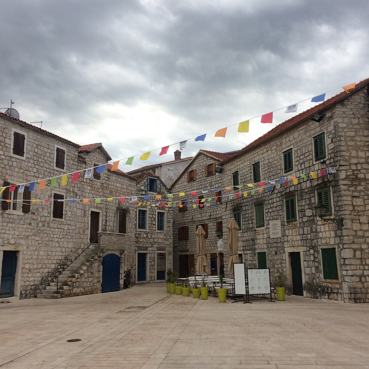 stari grad Hvar old town island travel croatia