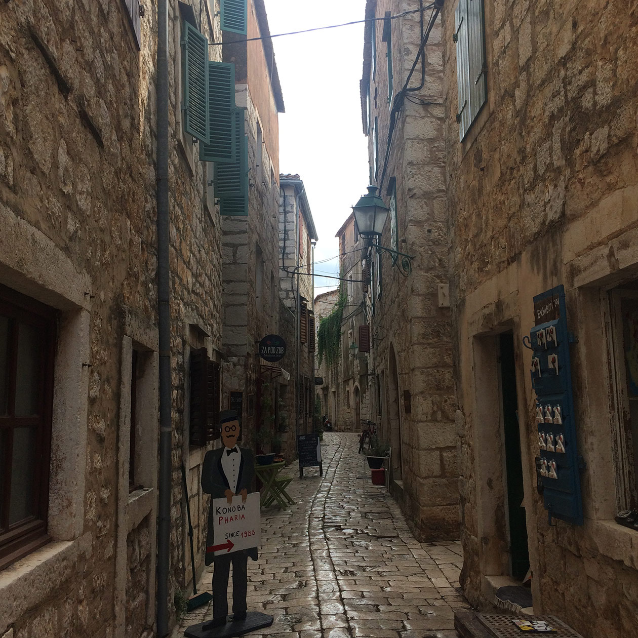 stari grad hvar old town island croatia travel