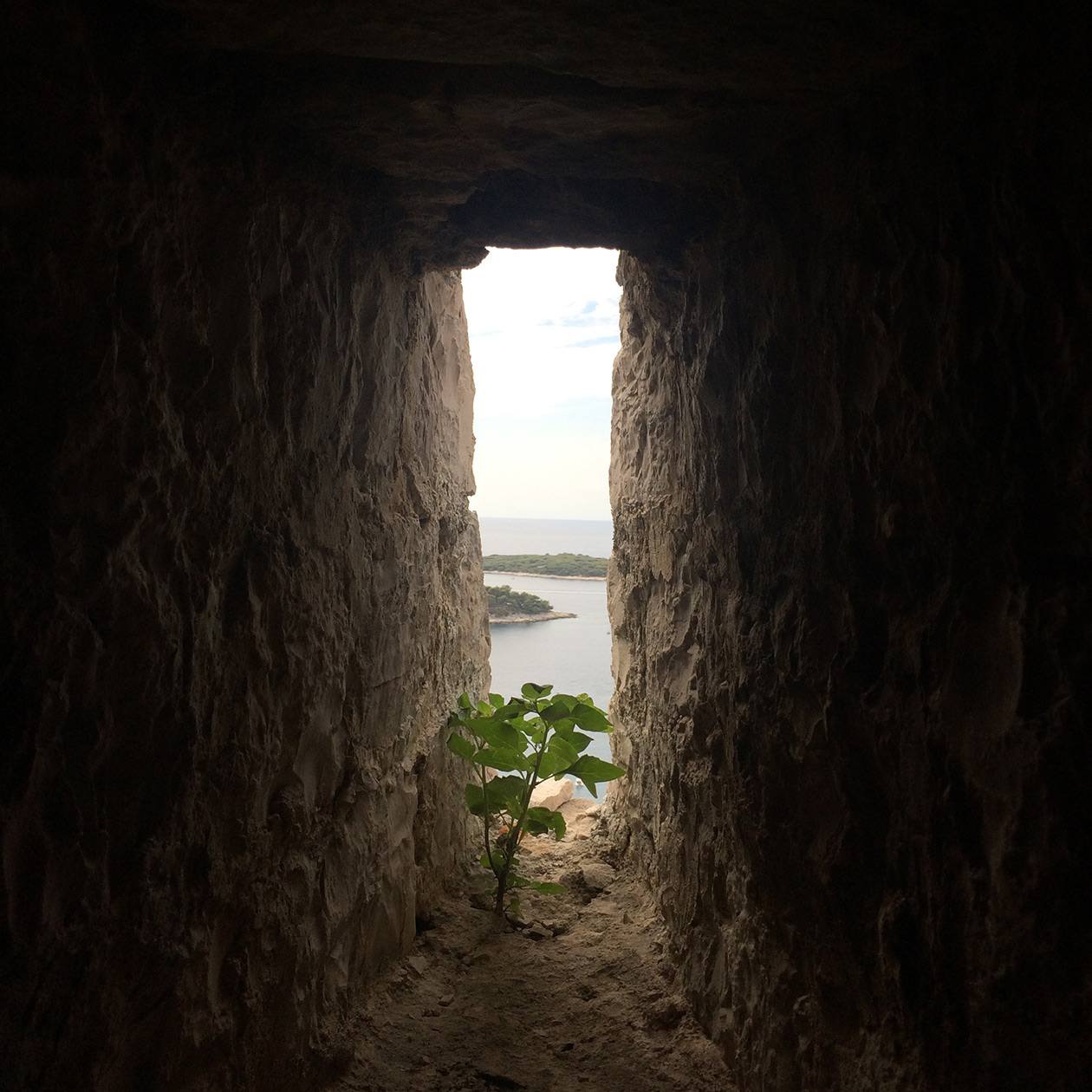 dungeon prison fortress hvar city island croatia travel