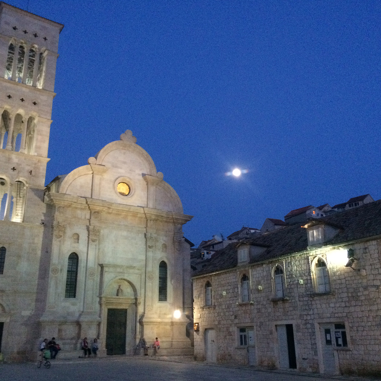 hvar city cathedrale st stephen 14th century island croatia travel
