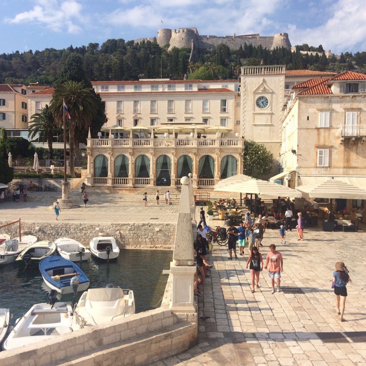 hvar city venezian republic architecture culture history island croatia travel